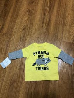 3 months Carter's Baby Boy outfit Shirt Yellow