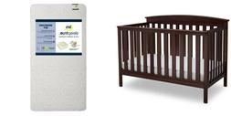 4-in-1 Convertible Crib with Serta Mattress Value Pack