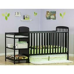 Dream On Me, Anna 4 in 1 Full Size Crib and Changing Table C