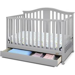 4in1 Convertible Baby Crib converts to Toddler Bed Drawer Pe