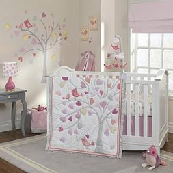 Lambs & Ivy Love Song 4 Piece Crib Set