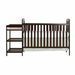 Dream On Me Anna 4-in-1 Full Size Unisex Baby Crib And Chang