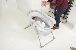 Baby Bassinet Crib Infant Nursery Bedside Newborn Cradle Gra