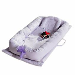 Baby Bassinet for Bed, V-mix Baby Co-Sleeping Cribs  Cradles