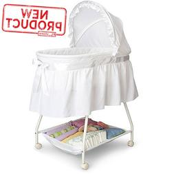 Baby Bassinet Portable Nursery Cradle Infant Basket Crib Tra