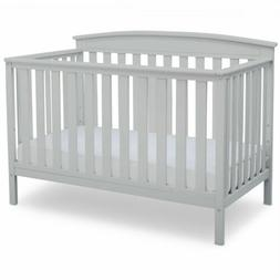 Baby Crib 4 in 1 Convertible Wood Convert to Toddler BED Col