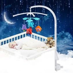 Baby Crib Mobile Bed Bell Toy Holder Arm Bracket For Hanging
