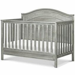 DaVinci Charlie 4-in-1 Convertible Crib in Cottage Gray