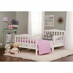 Dream On Me, Classic Design Toddler Bed White