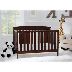 Delta Children Gateway 4-in-1 Convertible Crib Dark Chocolat