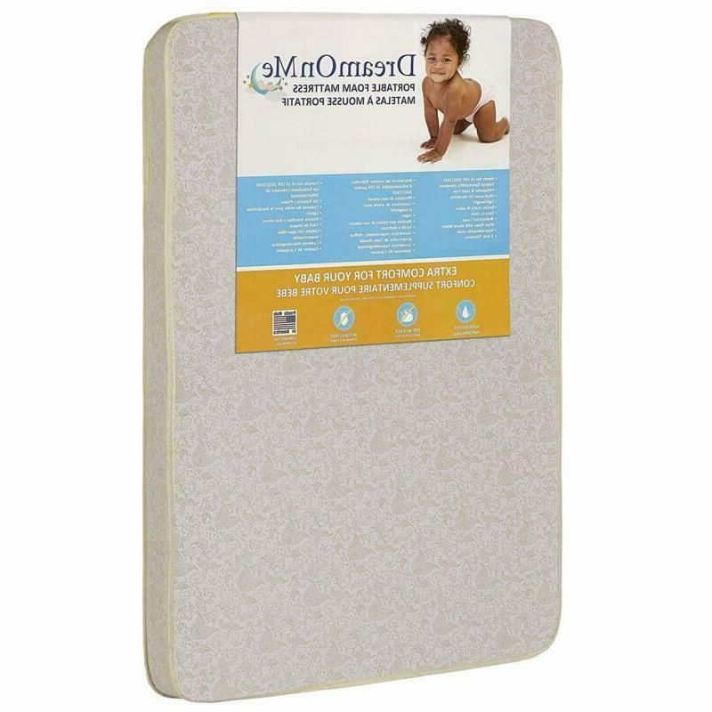 Dream On Me 3 Foam Graco Pack 'N Play Mattress With Bacteria