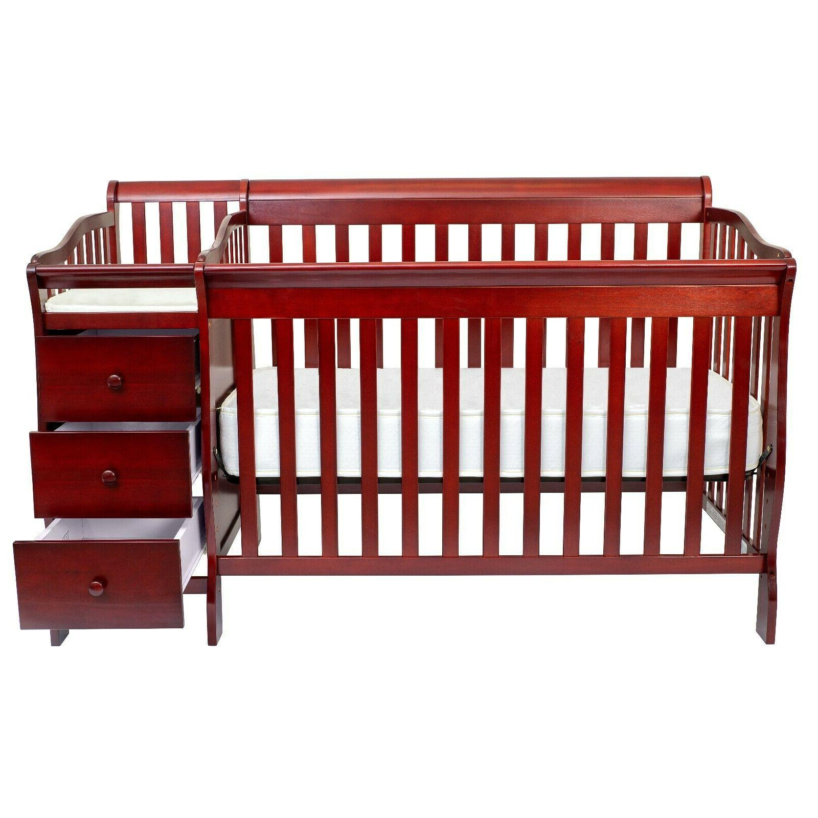 Fizzy 5 in Full Crib with Baby Changing