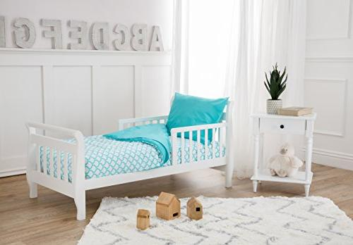 American Cotton Percale 4-piece Bedding Wave, for Boys Girls