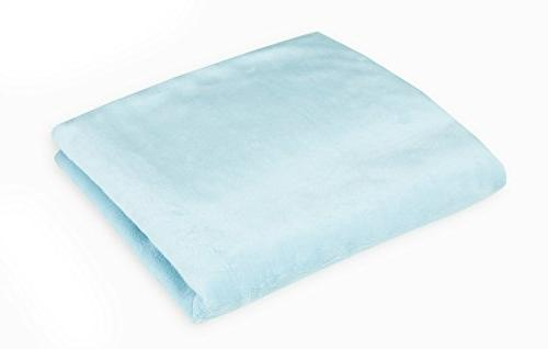 American Soft Fitted Sheet, Blue