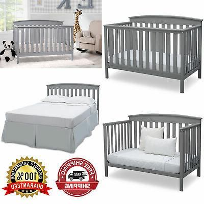 adjustable baby crib 4 in 1 convertible