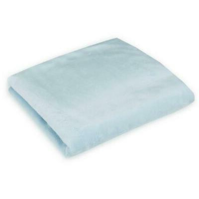 American Baby Chenille Polyester Sheet, Blue