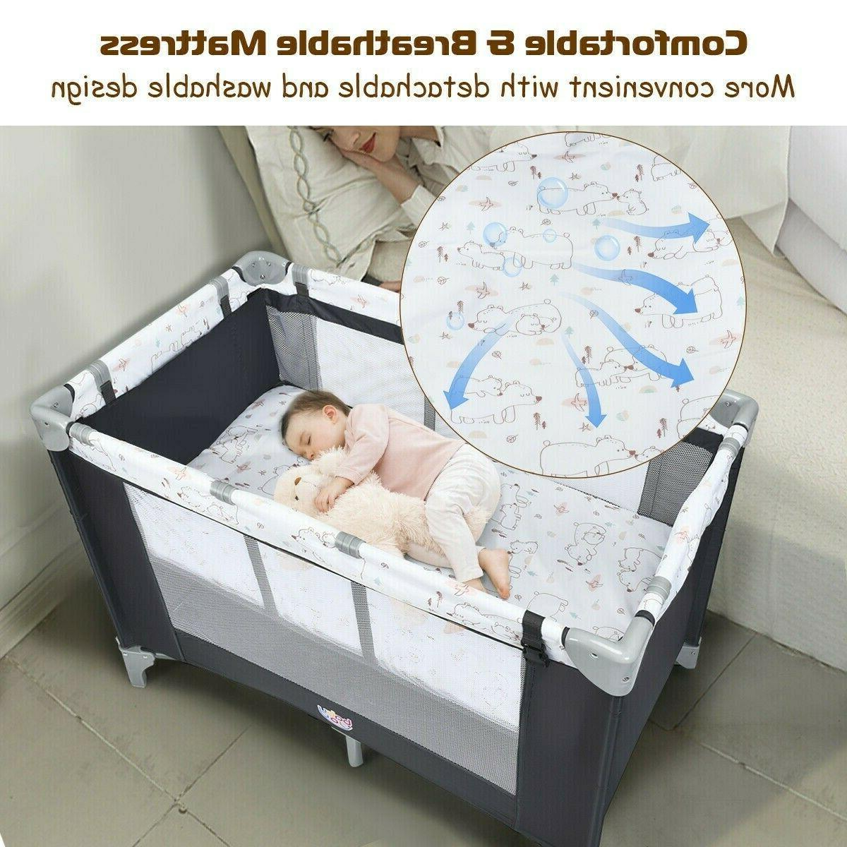 Baby Newborn Portable Bed With Bag