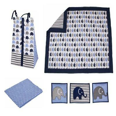 Baby Boy Bed Pieces Crib Set Cotton