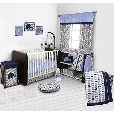 baby boy nursery mobile bed 10 pieces