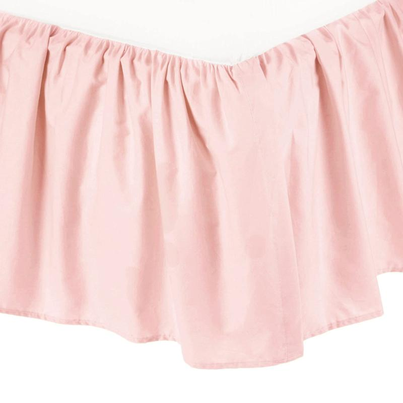 Baby Cotton Percale Skirt, Blush