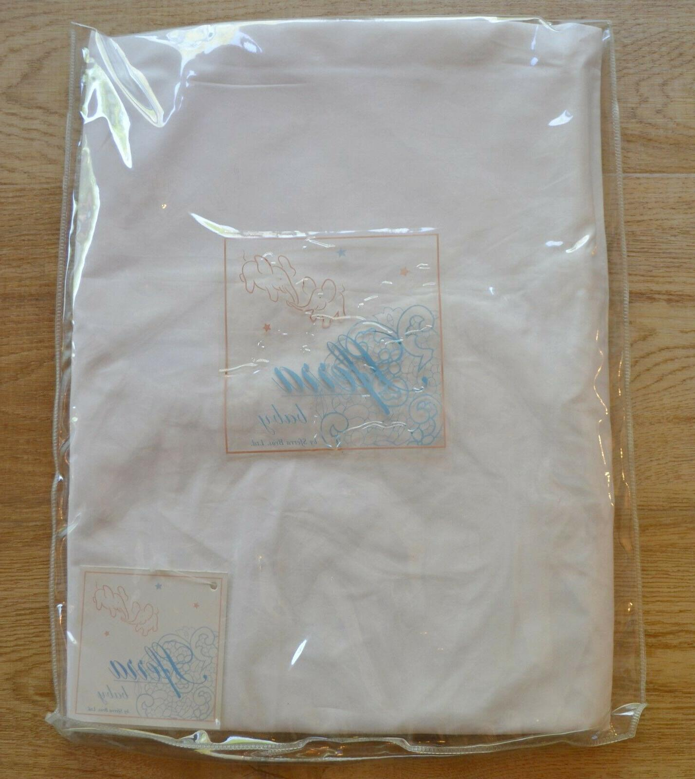 baby crib fitted sheet white italian egyptian