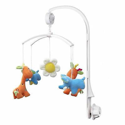 baby crib mobile bed bell toy holder