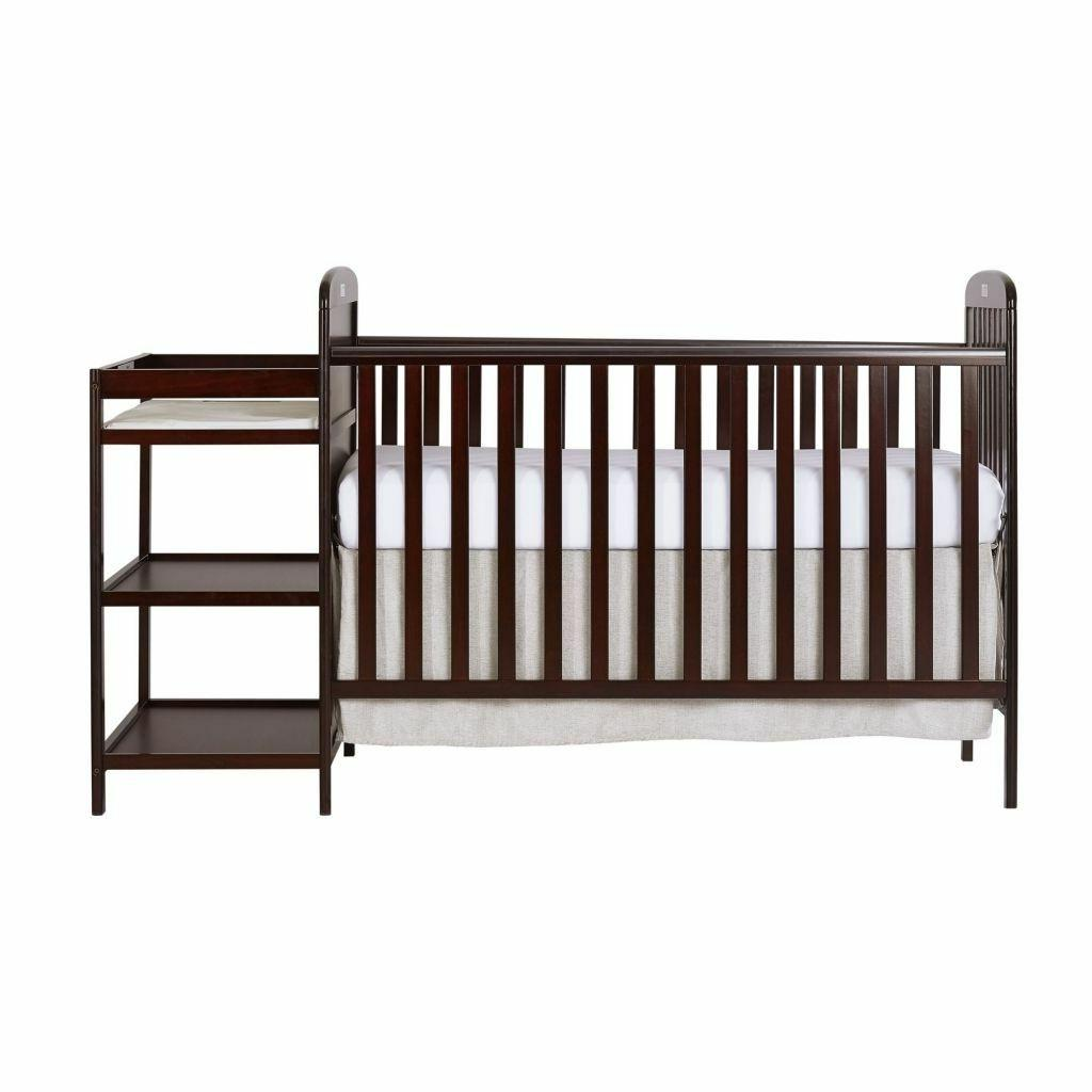 4-in-1 Baby and Changing Full Size Cherry