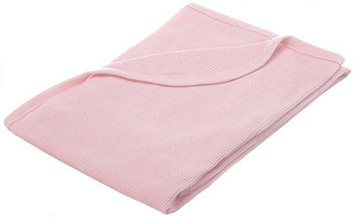 cotton swaddle thermal blanket
