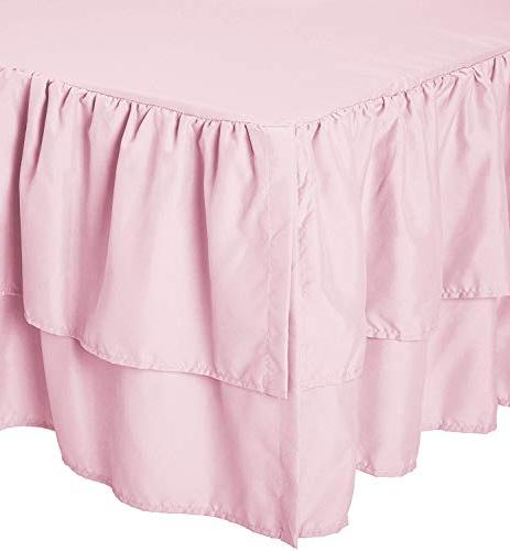 American Baby Company Layer Ruffled Blush for
