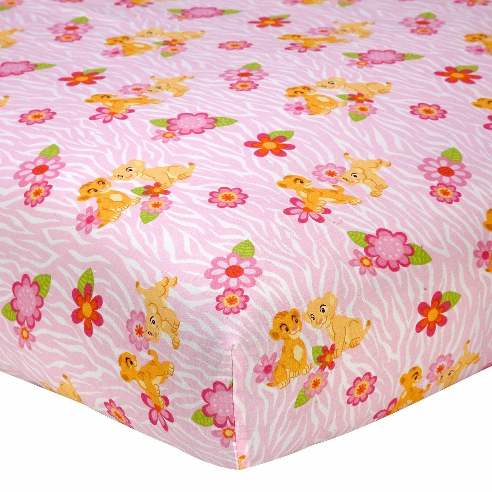 New Disney Baby Nala's Jungle Fitted Crib or Toddler Sheet P
