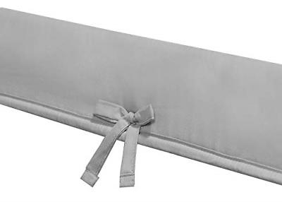 Padded Baby Crib Rail Cover Set Teething Guard 3-Piece Front NEW