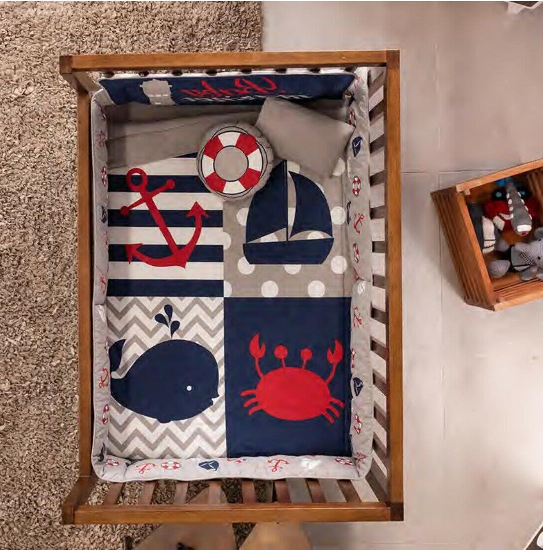 SAILOR CRIB PCS IDEAL FOR BABY SHOWER