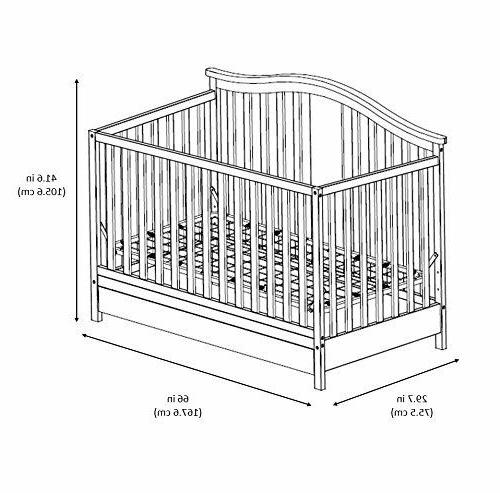 Graco Solano 1 Crib with Drawer, Toddler Bed