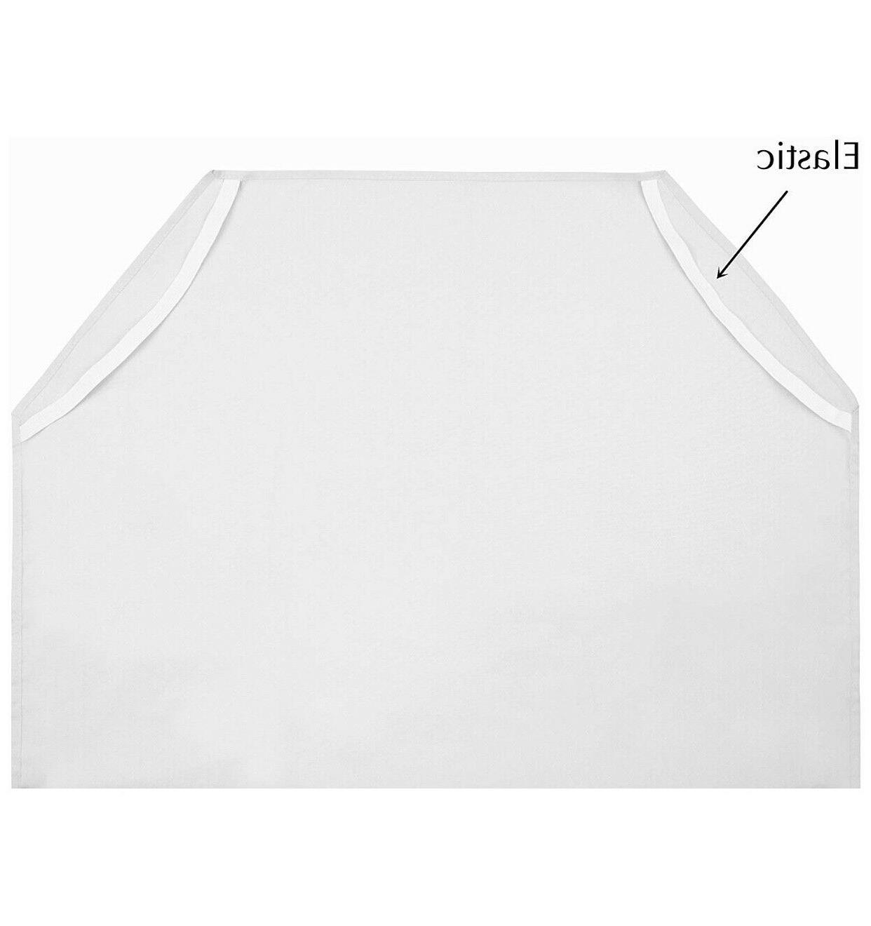 American Size Care Cot Sheet - White Style#7661WT