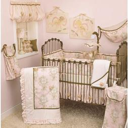 Cotton Tale Designs Lollipops and Roses 6pc Crib Bedding Set
