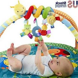 Newborn Baby Bed Stroller Rattle Soft Plush Mobile Toy Kids