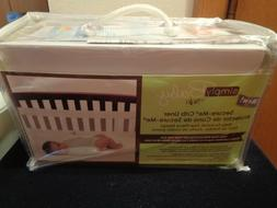 Simply Baby by NoJo NIP Secure-Me Ivory Crib Liner Four-Piec