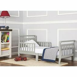 Dream On Me, Sleigh Toddler Bed Cool Gray