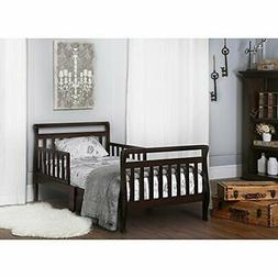 Dream On Me, Sleigh Toddler Bed Espresso