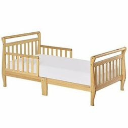 Dream On Me, Sleigh Toddler Bed Natural