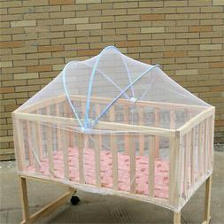 Summer White Baby Cradle Bed Canopy Mosquito Net Toddler Cri