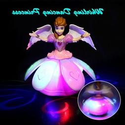 Toys for Baby Whirling Dancing Princess Doll LED Sound Toddl