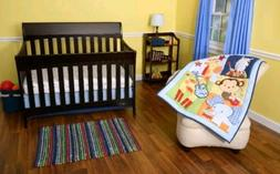 Riegel Tune Time Collection Baby 3-Piece Crib Bedding Set Ju