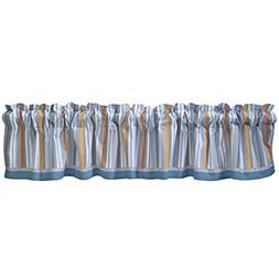 Bedtime Originals Two by Two Noah's Ark Window Valance, Blue